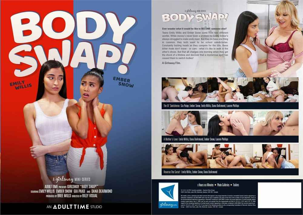 Body Swap (2020) – Girlsway XXX Movie