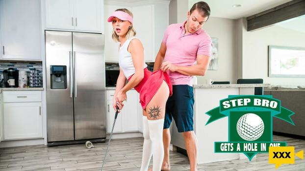 StepSiblingsCaught 2021 01 31 Chloe Temple Step Bro Gets A Hole In One
