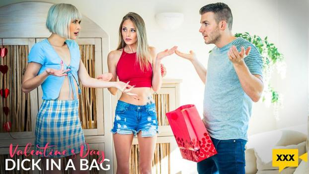 MyFamilyPies 2021 02 08 Jessie Saint And Kyler Quinn Valentines Day Dick In A Bag