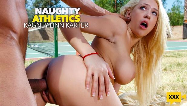 NaughtyAthletics 2021 02 13 Kagney Linn Karter – Kagney Linn Karter serves up some outdoor fucking – REMASTERED