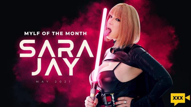 MylfOfTheMonth 2021 05 04 Sara Jay Baddest Mylf In The Galaxy